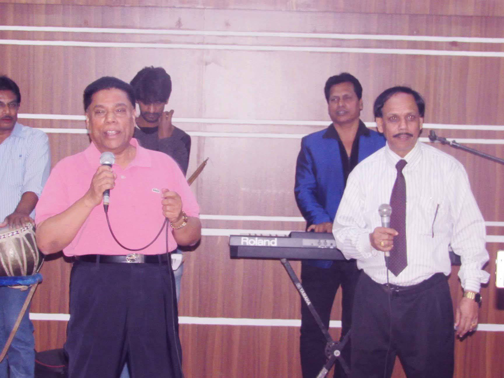 ATN Bangla Chairman with Hotel Star Chairman for Evening Party